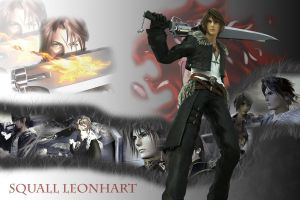 Squall Leonhart Wallpaper by ShinraWallpapers