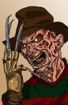 Freddy Krueger by TheBIG-O