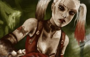 HarleyQ by she-assassin