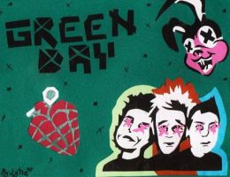 Green Day cartel by lytre98