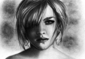 Emma Watson by TheSixBPencil