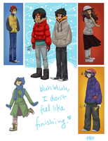 coldstuck by iHeartNargles