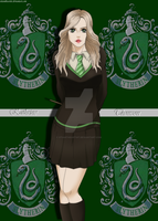 Harry Potter OC - Kathrine Thomson by XtianTheArtist