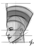 Villainess Concept Sketch Profile by izzykahn
