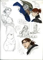 Mass Effect:  More Sketches by Armesan