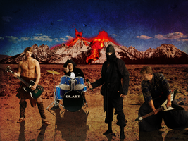 Guitars and Volcanos by Dyland3r