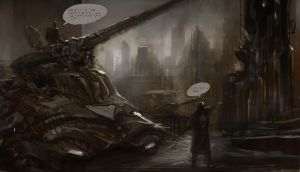 tank_talking by liuyangart
