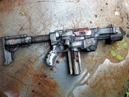 mass effect n7 style nerf lumitron by billy2917