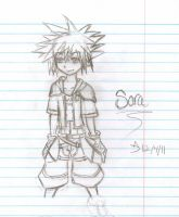 Sora first try by SketcH-RusH