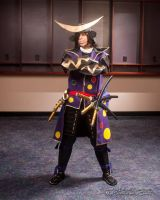 Epic Cosplay - Date Masamune by Orcagirl2001