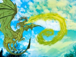 Green Dragon~ Finished Finished by RoomsInTheWalls