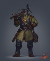 Kontiant protectorate soldier by Gimaldinov