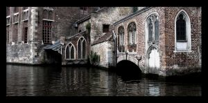 Brugge Canal by Boofunk