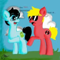 John and Dave ppponified by InvadurHeart