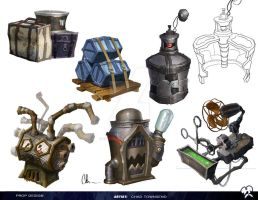 Epic Mickey 2 Prop Design 04 by ChadTHX1138