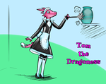 Tom/Charlotte the Dragoness by betterwatchit