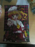 Flandre Scarlet Poster by a0001521