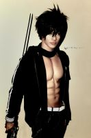Black Rock Shooter Male Cosplay 2 by CyanicOrange