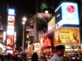 New York City - Broadway by AndGodSaidOhMyGod