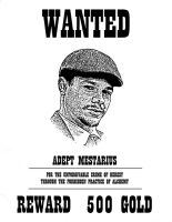 Wanted Poster by VictorianSpectre