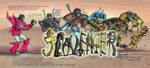 Scavengers- MTMTE by WolfWhiskers