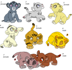 Cubs Adoptables 3 - CLOSED - by Soufroma