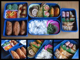 Urara Bento Full Set by sake-bento