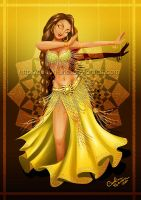 Yellow Dancer by Queen-Uriel