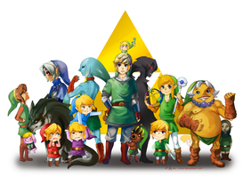 The Legend of Link by Wasil