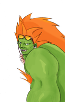 SF - Blanka by ZeSmork