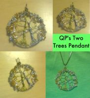 QP's Two Trees Pendant by QuantumPhysica