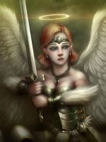 Heavenly Crusader by MakingPicsSlowly