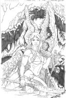 Jungle Girl Cover 1 by Adrianohq