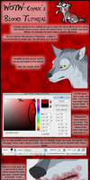 Blood Effect Tutorial by WotW-Comic
