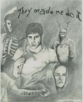 Donnie Darko Collage by DMcAllister