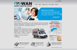 WAN website by michaelblackpl