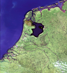 'Satellite image' of the Netherlands 100 A.D. by rashiddo