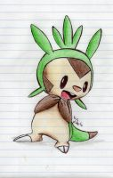 Chespin by I-liek-dittos