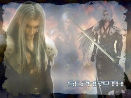 Sephiroth WP by Silverwind3D