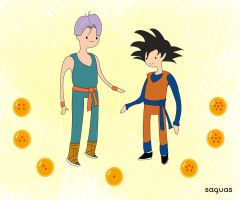 goten y trunks (hda) by whoisErni