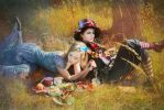 Alice and Mad Hatter by MigraineSky
