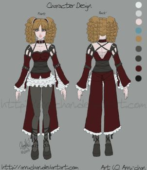 Character and Outfit Design by annuchan