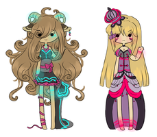Collab Adopts: Kaylalovey (closed) by Silent-Koi