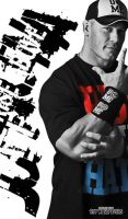 John Cena 'Rise Above Hate' by RedScar07
