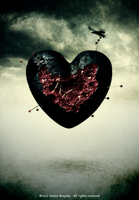 Wounded heart by Aminebjd