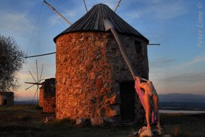 windmills Co20 last rays by PeterLime