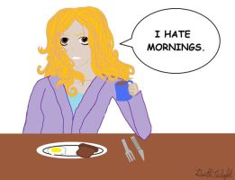 I Hate Mornings by DeathTwilight
