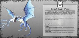Quetzale the Sky Wyvern by TakemaKei