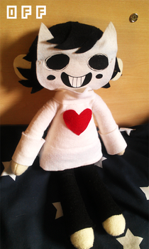 Zacharie plush by Arkeresia