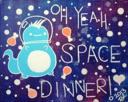 Oh Yeah Space Dinner! by rochila13